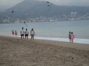 The turn around point is the beaches of Puerto Vallarta