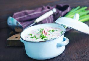 Chilled Potato and Leek Soup